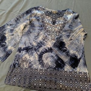 Lovely silky tunic blouse